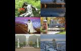 Εικόνες από την πόλη Πούσκιν της Ρωσίας στη Βέροια