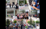 Καθιστική διαμαρτυρία και πορεία ενάντια στην τοποθέτηση ανεμογεννητριών στο Βέρμιο (video)