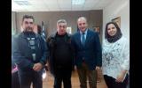 Σε θετικό και θερμό κλίμα η συνάντηση του διοικητή Νοσοκομείου Βέροιας με το Διοικητικό Συμβούλιο του ΣΟΦΨΥ Ημαθίας