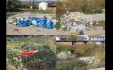 Άσχημη εικόνα με μπάζα σε οικόπεδο του Δήμου δίπλα από το 9ο Δημοτικό Σχολείο Νάουσας